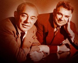 Richard Rodgers, Oscar Hammerstein II Are Posing For A Picture