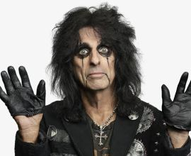 Alice Cooper Posing For The Camera